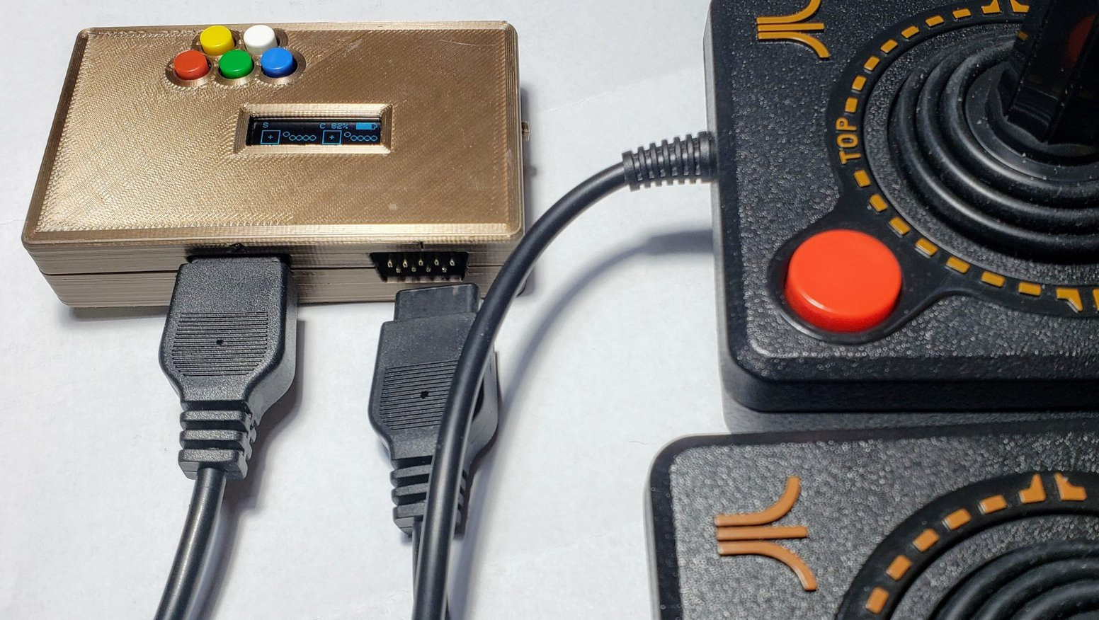 Bluetooth Atari Paddle and Joystick Adapter