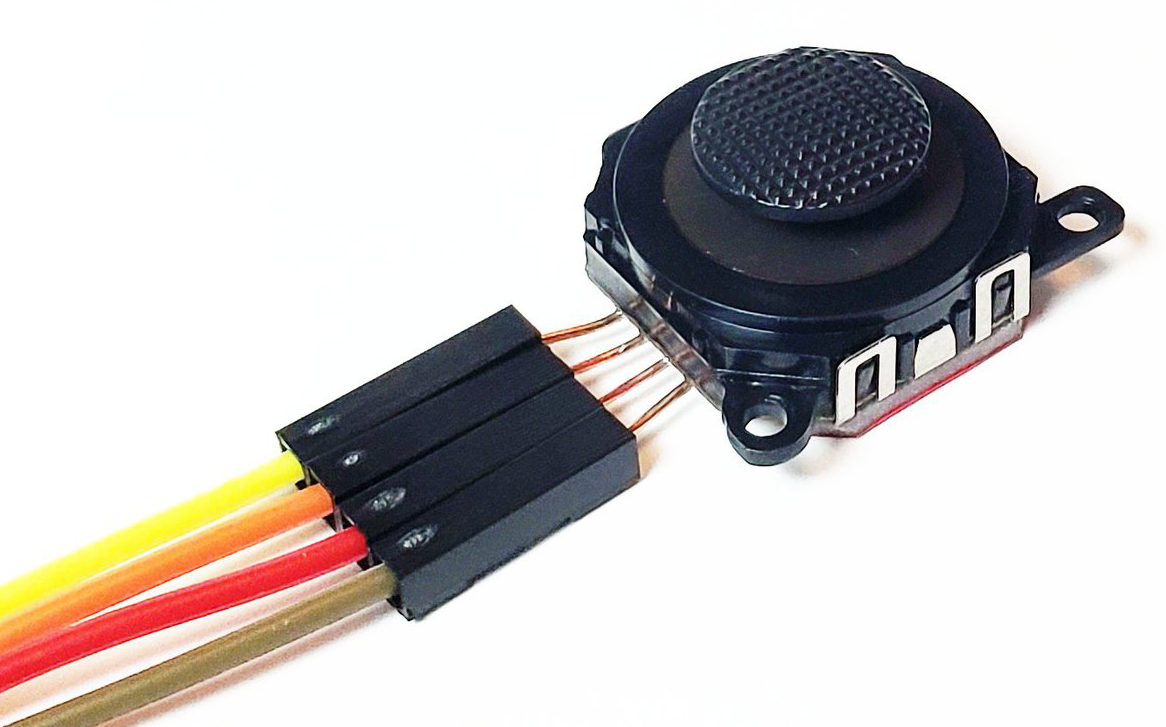 2-Axis Mini Joystick With Leads
