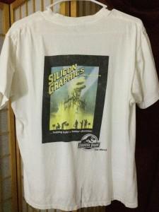 SGI Jurassic Park t-shirt