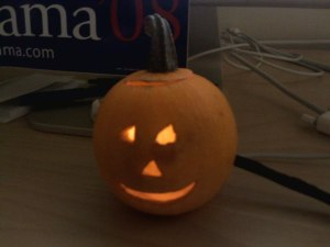 usb powered pumpkin