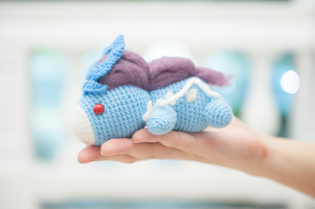 Tiny Rabbit Hole - Unlock Legendary Suicune Amigurumi into the world!