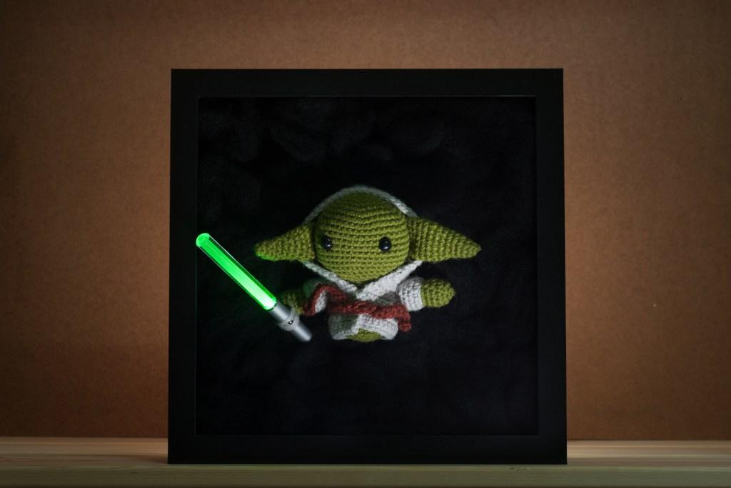Tiny Rabbit Hole - Yoda From Another Dimension - star wars amigurumi - yoda amigurumi