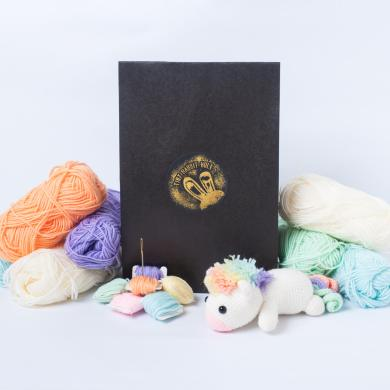 Tiny Rabbit Hole - Here we unleash our Material Kit and Patterns! - crochet supplies -colourful yarn - amigurumi supplies