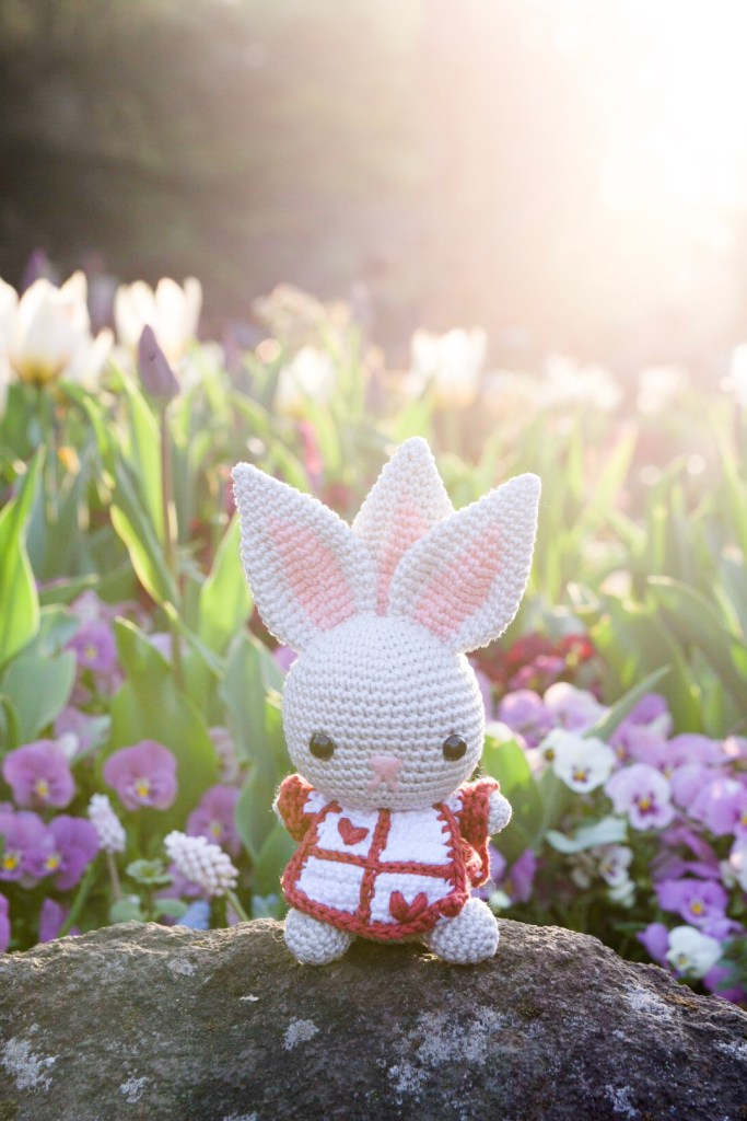Tiny Rabbit Hole - Crochet Craft amigurumi rabbit workshop pattern Singapore