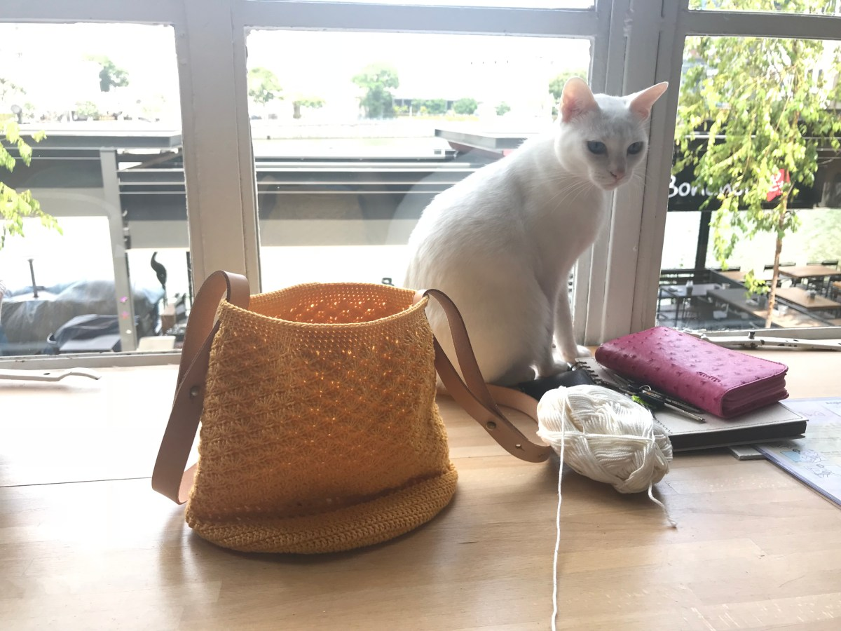 Crochet and chill – Neko no Niwa Cat Cafe