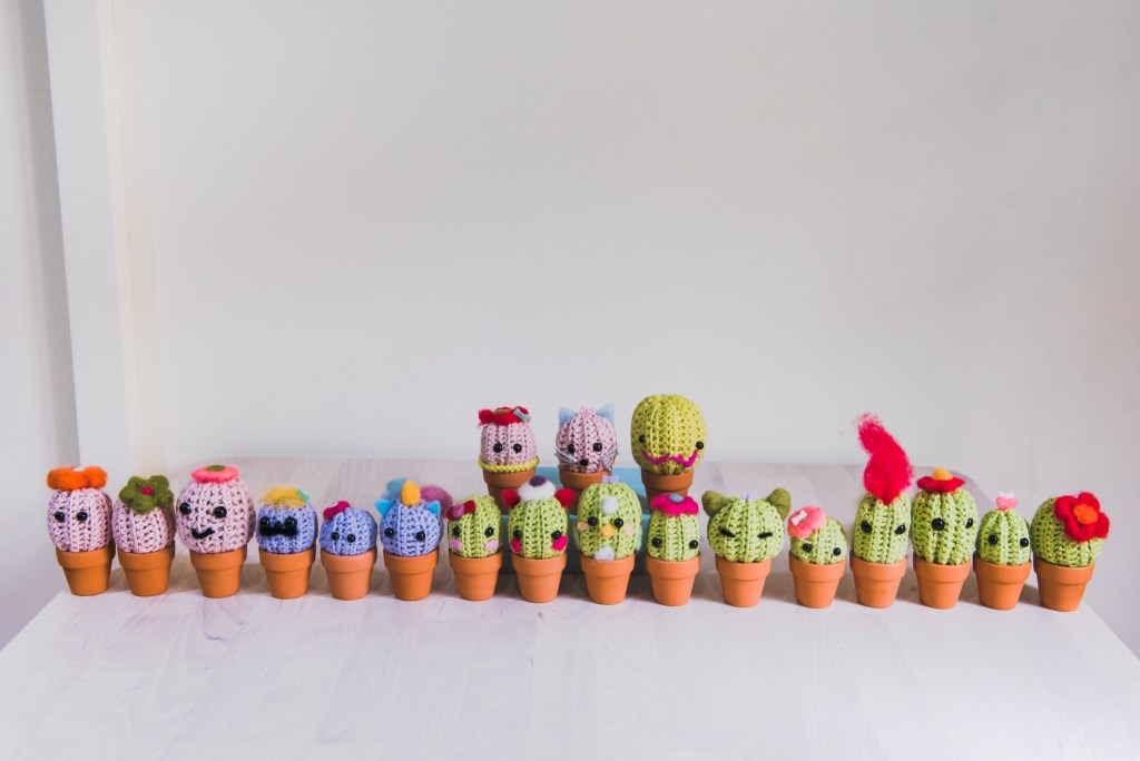Tiny Rabbit Hole – amigurumi crochet studio chinatown tools hooks yarns wool nose eyes stitch markers needles katia schachenmayr custom amigurumi unicorn sakura cactus