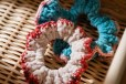 tiny rabbit hole scrunchie crochet pattern free handmade free pattern freebie hair tie
