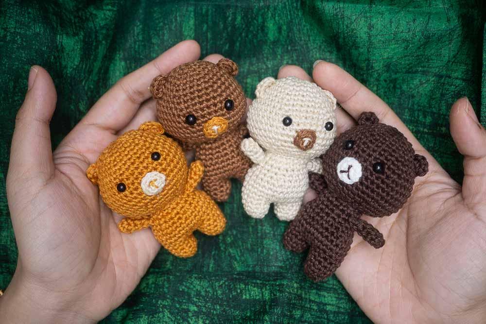 Free crochet pattern – WildBeary Family