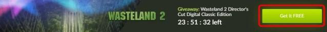 Obtendo Wasteland 2 Giveaway