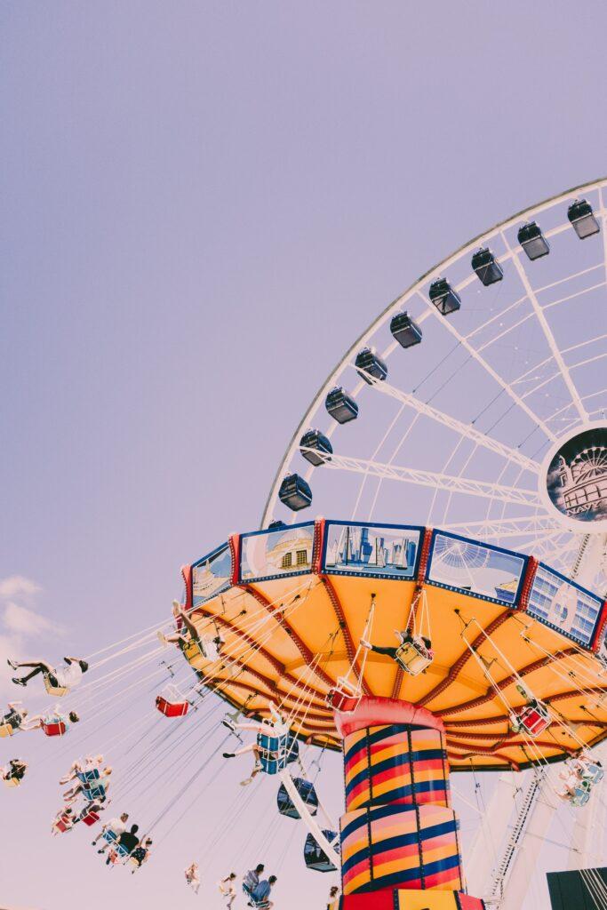 Chicago Navy Pier Ferris wheel