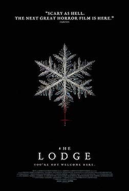 Theatrical poster for the film, The Lodge