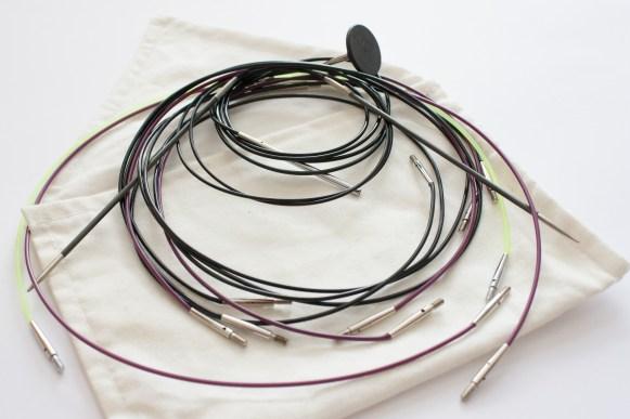 Indispensable trousse à tricot: les cables