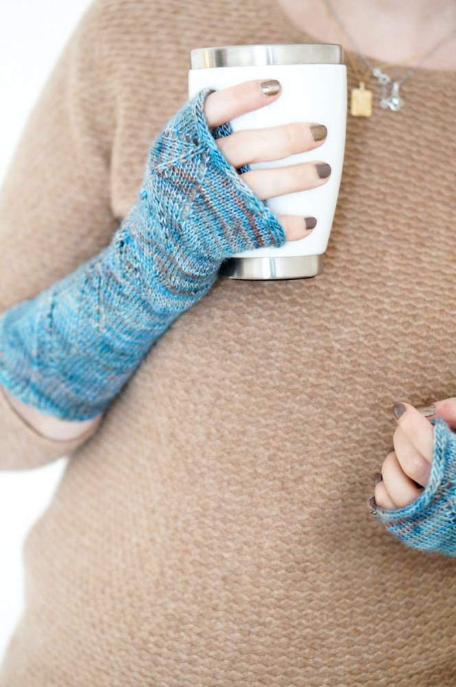 Bow and Arrow Fingerless Gloves