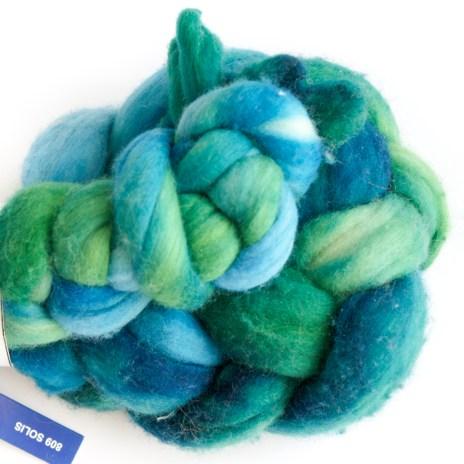 Ecaille de Sirène, laine filée, handspun yarn