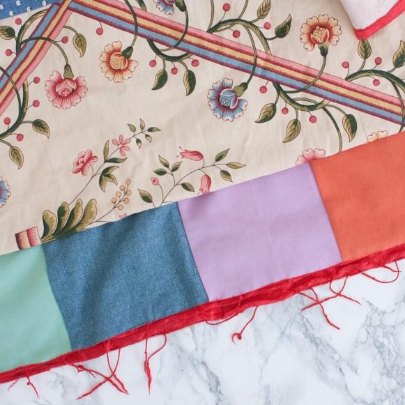 Étole au patchwork - A Patchwork Stole