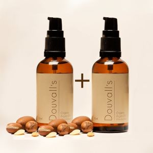 Douvalls: Argan Oil Moisturiser - 50ml (X2)