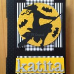 "Caderno longstitch ""Katita"""
