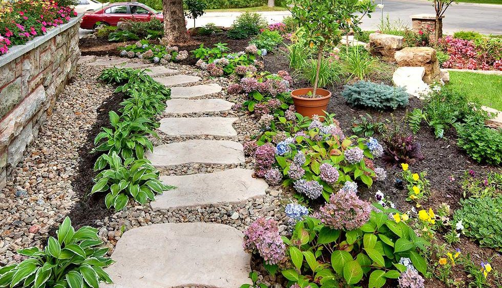 Easy Garden Path & Walkway Ideas Outdoor Living