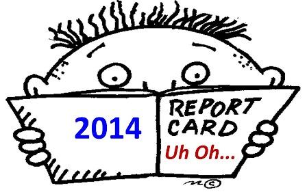 Grading 2014 Predictions