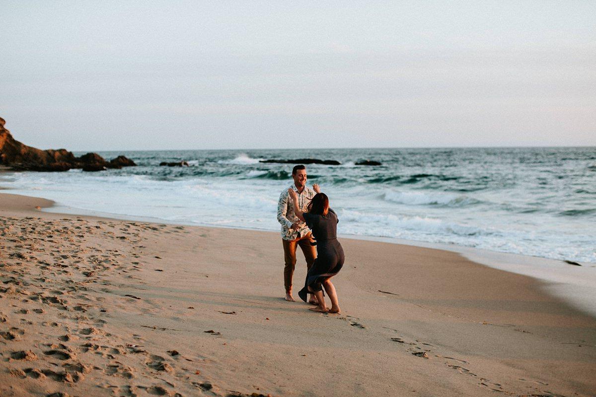 Montage Laguna Beach Engagement  San Diego Wedding Photographer