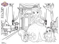 Imprimibles gratis Princesita Sofa - Todo Bonito