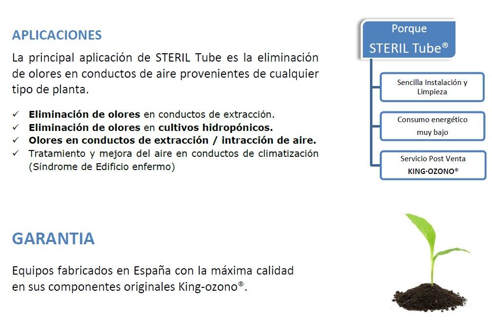 steril tube info