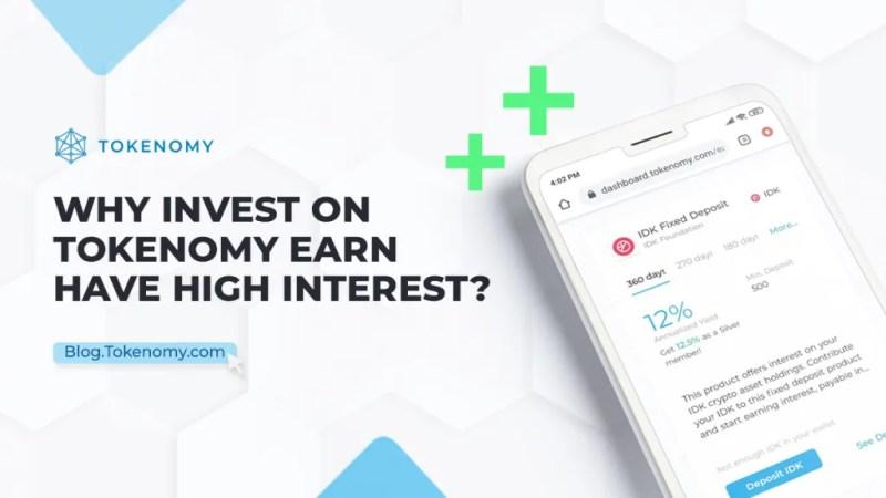 High Return Investment on Tokenomy Earn