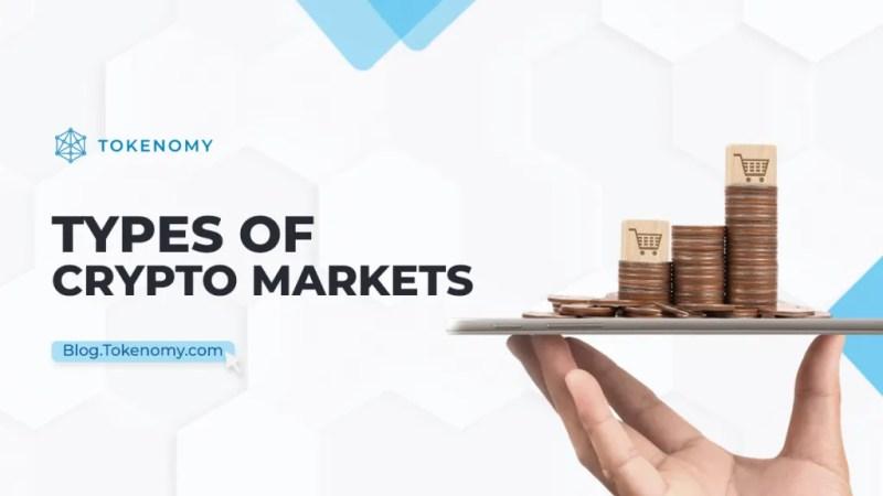 Types of crypto markets