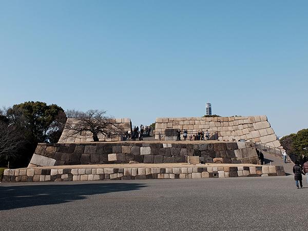 これが江戸城跡。