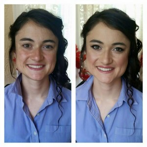 Makeup by Jennifer W. Hair by Cassandra