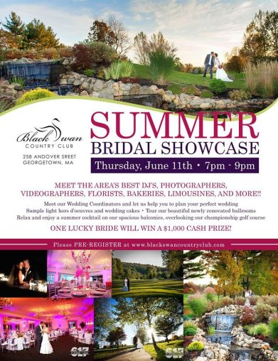 Black Swan Country Club Bridal Show