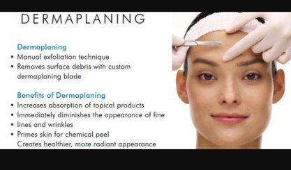 Dermaplaning Treatment