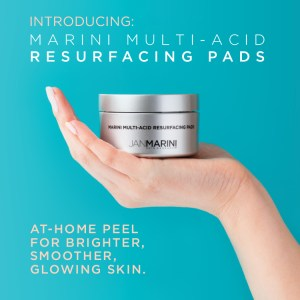 At home resurfacing peel pads.