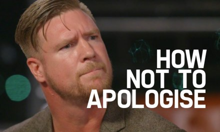 How Not to Apologise