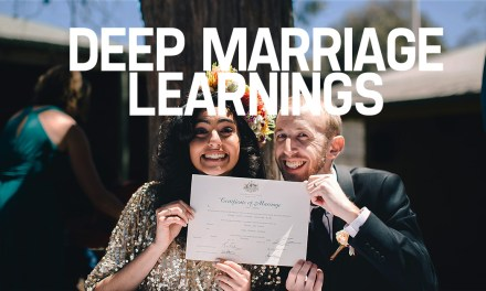 Deep Marriage Learnings