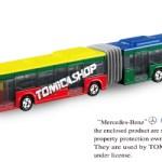 ミニカー発売情報 トミカショップオリジナル メルセデスベンツ シターロ 連接バス