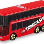 ミニカー発売情報 トミカショップオリジナル 三菱ふそう エアロキング 2階建てバス