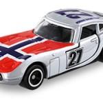 ミニカー発売情報 アピタ ピアゴオリジナル<世界の国旗トミカ>トヨタ 2000GT ノルウェー国旗タイプ