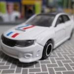 イトーヨーカドー限定トミカ スバル インプレッサ WRX STi 4door トリコロールカラー仕様