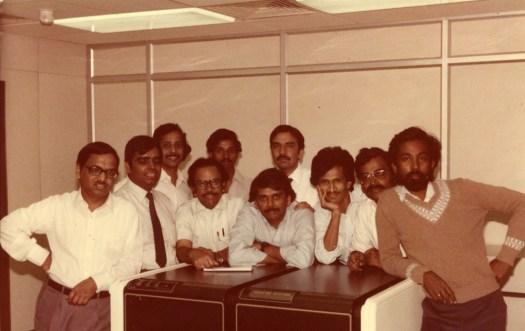 Infosys Early Employees Circa 1980's [infosys.com]