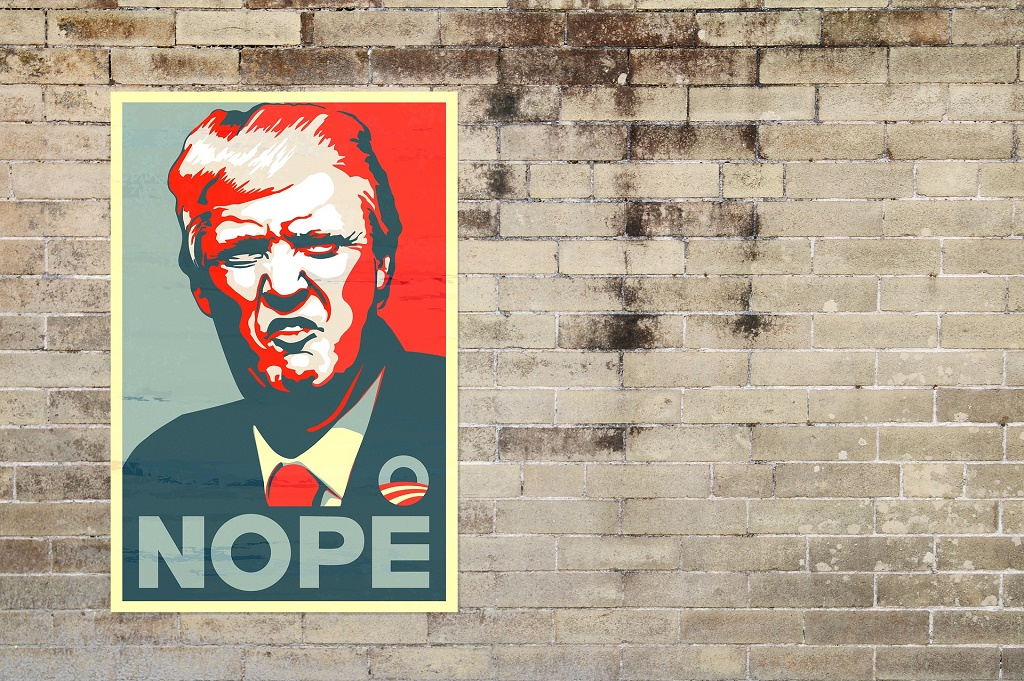 poster-trump-nope-fake-news