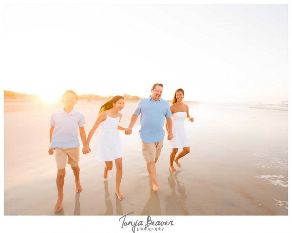 Garrard family photos Ponte Vedra Beach family photos  Jacksonville Florida Wedding