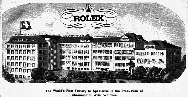 Rolex factory Switzerland