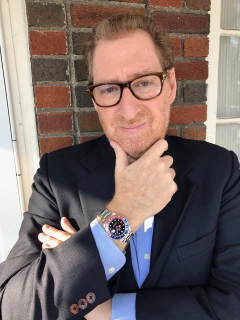 Rob Blum and his Rolex GMT Master II