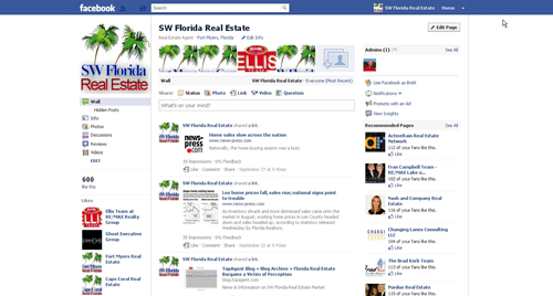Official SW Florida Real Estate Facebook Fan Page
