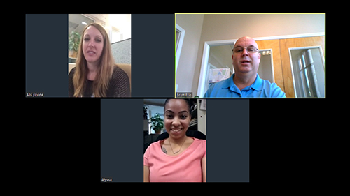 Virtual Meetings Solves the Puzzle with Sellers and Buyers