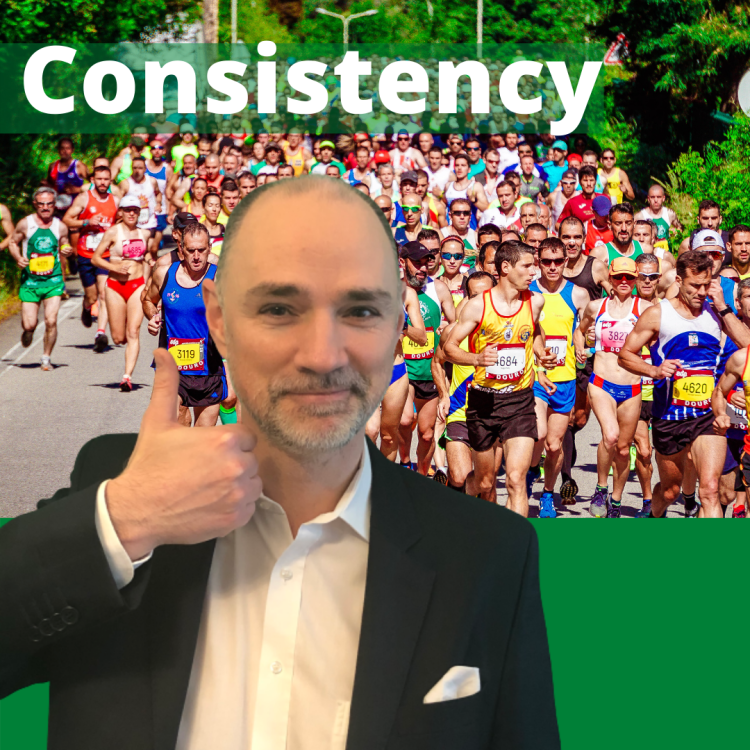 What to do in social media marketing. Be consistent
