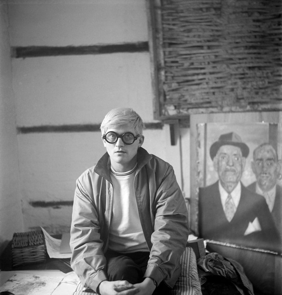 david hockney at reddish manor in england 1965 photographed by cecil beaton c the cecil beaton studio archive at sotheby s