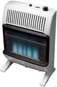 Heatstar 20000 BTU Vent Free Blue Flame Heater