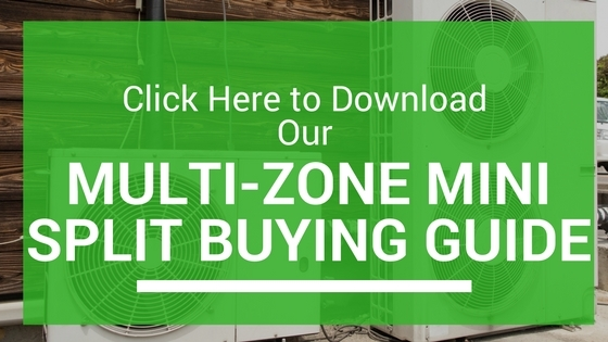 Multi zone mini split buying guide